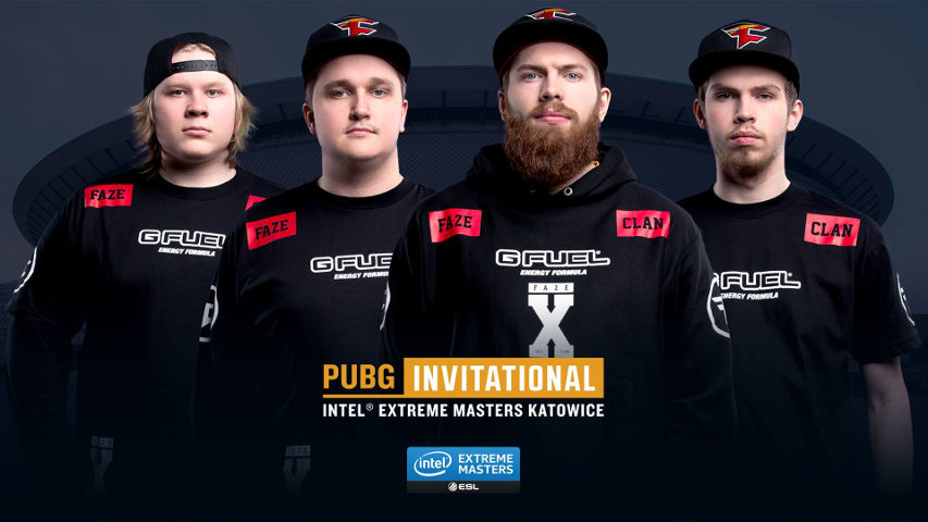 The first team invited, from the EU region, FaZe Clan