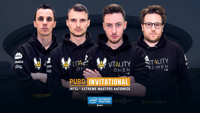 The second team invited, also from the EU region, Team Vitality