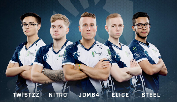 Team Liquid's Counter-Strike squad during IEM Oakland 2017