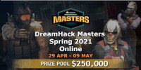 DreamHack Masters Spring 2021: Under the May downpour of bullets